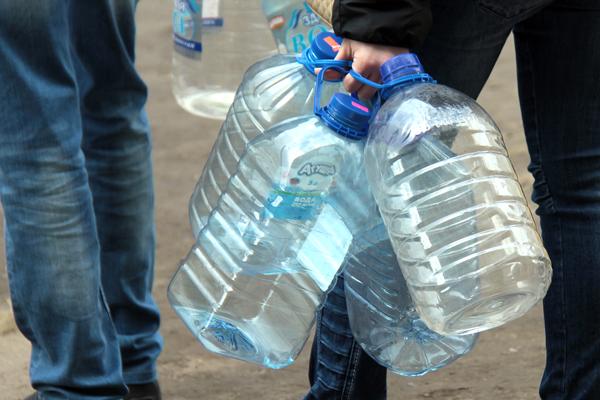 В п. Приладожский и д. Назия уже сутки нет воды
