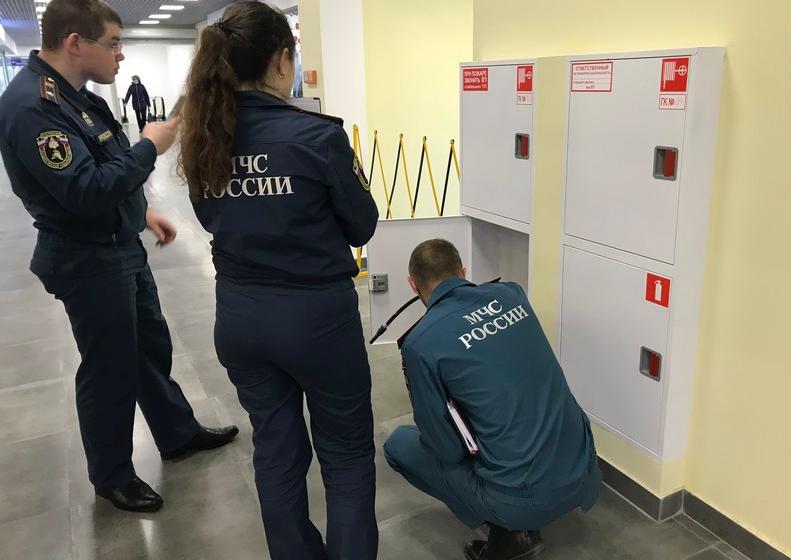 Проверка пожарной безопасности в ТЦ «Набережный»