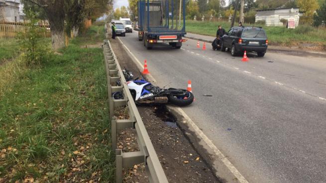 В Кировске разбился мотоциклист