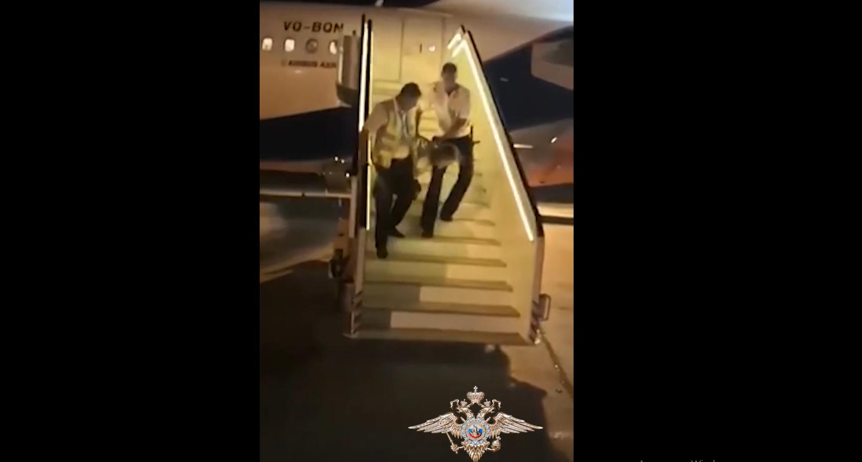 Из за пьяного Кировчанина, посадили самолет летящий из Израиля