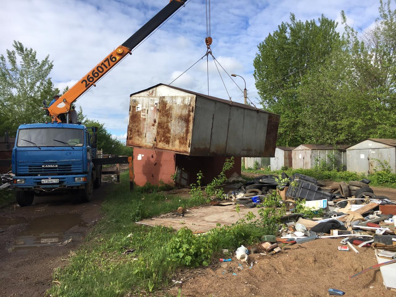 Еще одна территория Кировска под ТРК (дорога к ПНИ)