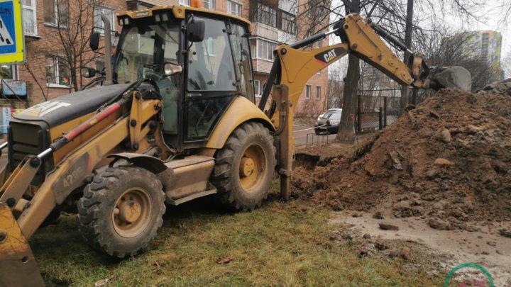 В Кировске нет воды, авария на улице Энергетиков