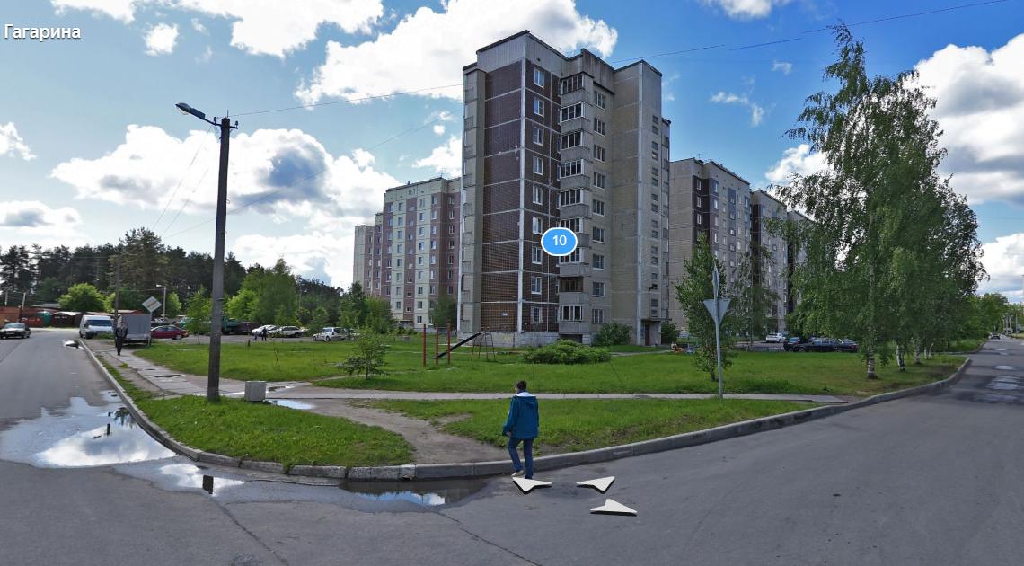 В Отрадном, по ул.Гагарина дом 10,  обнесли квартиру