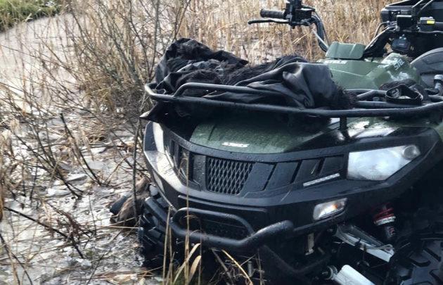 Отец и дочь из Петербурга поехали кататься на квадроцикле после встречи Нового года в Дачном, но застряли в болоте и погибли. Окоченевшие тела нашли на следующий день