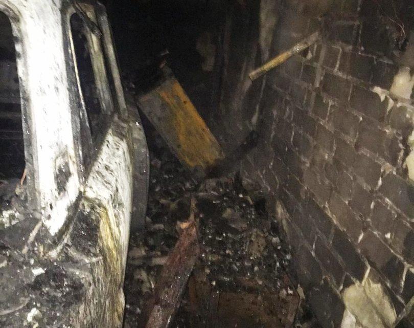 В Отрадном на месте горевшего в прошлом году гаража нашли еще одного погибшего. Останки лежали на земле больше месяца