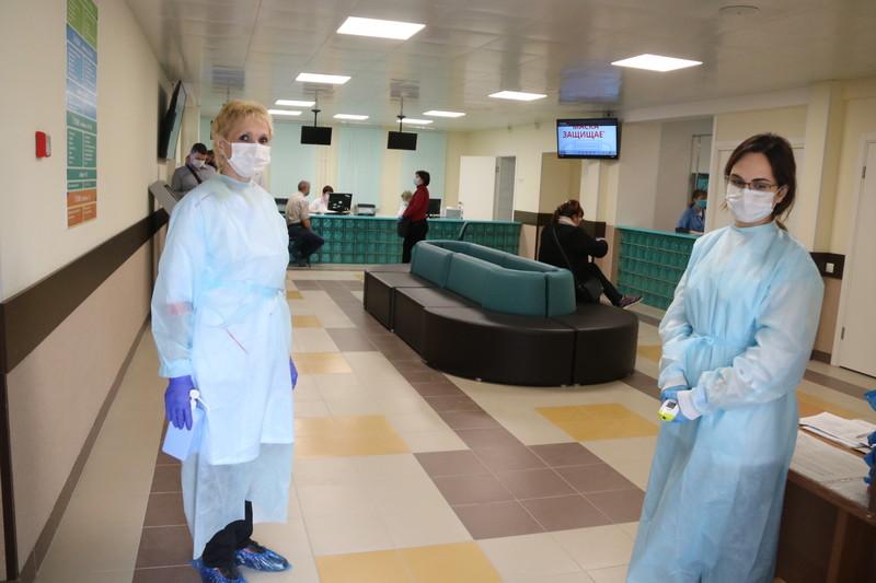 В Отрадненской городской больнице завершается капремонт